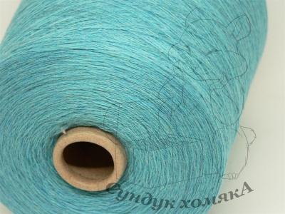 Biella Yarn By Sudwolle S.R.L. VICTORIA яркий бирюзовый меланж (6M0967)