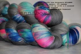 Zegna Baruffa Lane Borgosesia MILLMERE  цветные дождинки