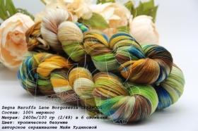 Zegna Baruffa Lane Borgosesia CASHWOOL тропическое безумие