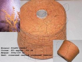 Winwool FILATO CHARLY солнечный светлый оранжевый (мимоза)