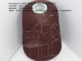 Ricignolo 1928 SUMATRA DEODOR REATTIVO 0630 шоколад с гвоздикой (с красным подтоном)