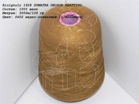 Ricignolo 1928 SUMATRA DEODOR REATTIVO 0602 медно-оливковый (с зеленцой)