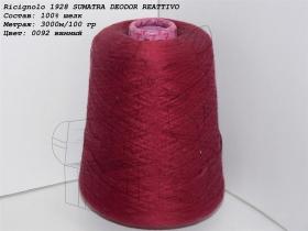 Ricignolo 1928 SUMATRA DEODOR REATTIVO 0092 винный