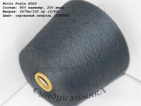 Botto Poala GOLD сероватый петроль (209368)