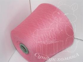 Exclusive Yarns кашемир розовый клубничный (S48 pink)