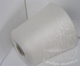 Exclusive Yarns кашемир белый натуральный (T75 natural white)