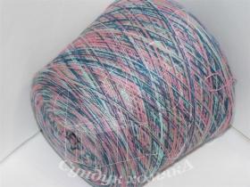 Texdar SrL. Cossato джинсово-голубо-розово-оливковые секции