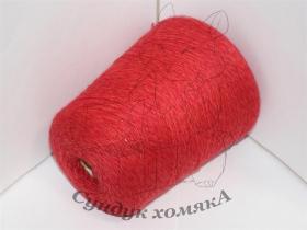 Zegna Baruffa Lane Borgosesia FREE яркий красный меланж