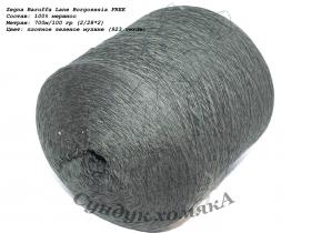 Zegna Baruffa Lane Borgosesia FREE плотное зеленое мулине (923 verde)