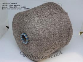 Lanerossi DARWIN беж-мокко мулине (63686)