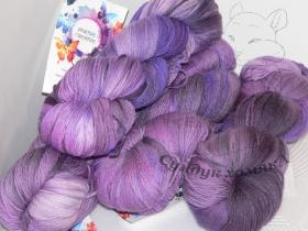Zegna Baruffa Lane Borgosesia SOFTLY лиловая лилия