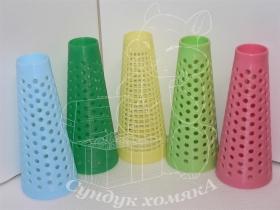 Конус пластиковый/бумажный для отмота/размота пряжи